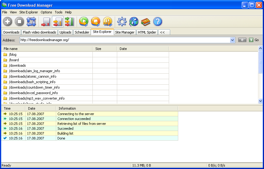 منافس المجانيFree Download Manager 3.9.2 Build1301,بوابة 2013 explorer_big.png