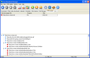 Free Download Manager ver. 2.0